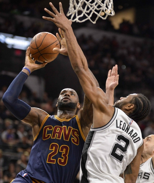 Ailing Cleveland Cavaliers dismantled by Spurs, 103-74