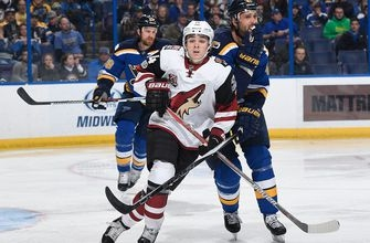 Keller debuts but can't keep Coyotes from 10th straight loss to Blues