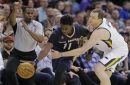 Anthony Davis scores 36 points, grabs 17 rebounds but Pelicans lose to Jazz 108-100