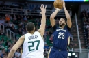 Jazz beat Pelicans 108-100 behind Gobert, hot shooting
