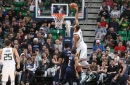 Jazz sink Pelicans 108-100 behind Gobert, hot shooting (Mar 27, 2017)