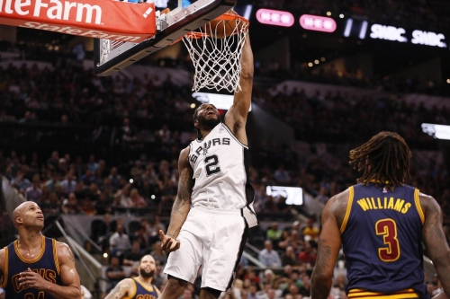 Spurs win fifth straight game with easy win over Cavaliers