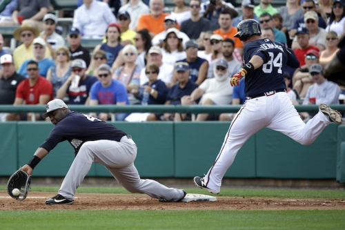 What Yankees' Chris Carter thinks about his dreadful spring, Greg Bird