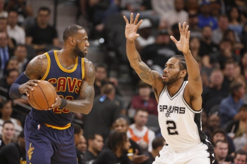 The Spurs are LeBron's Kryptonite