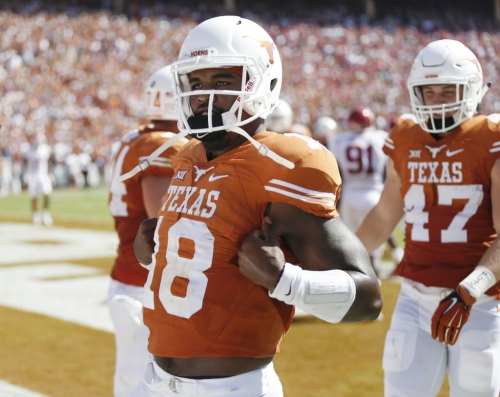 Tyrone Swoopes is reportedly drawing interest from NFL teams as tight end prospect