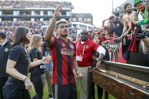 Atlanta United's leading scorer will miss Sounders match