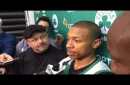 Isaiah Thomas: Cleveland Cavaliers will probably figure it out, but Boston Celtics 'right there' with top teams