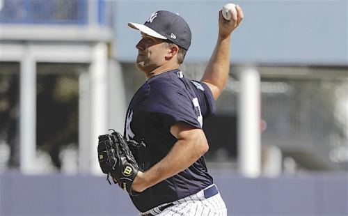 Yankees narrow the starting rotation field; 4 candidates still chasing 2 spots