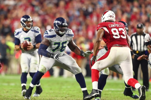 Seahawks GM John Schneider: Aboushi to start out at right guard, Ifedi could move to right tackle