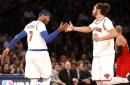 Carmelo Anthony: Joakim Noah ready to 'man up' after ban