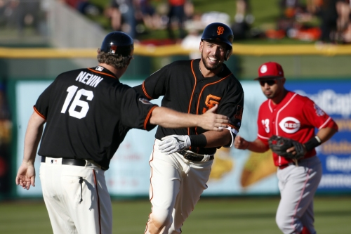 Giants notes: Chris Marrero does it again, matches Bryce Harper for spring home run lead