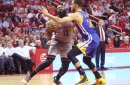 Comeback attempt falls short, Rockets lose to Dubs 113-106