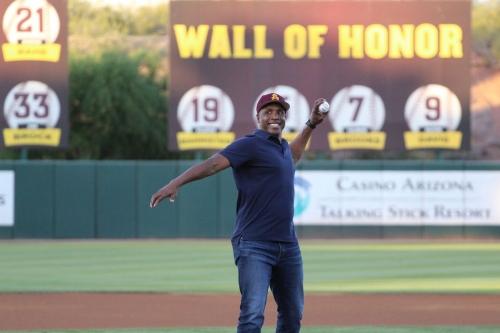 GALLERY: Barry Bonds returns to ASU