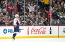 Ovechkin's power play trick, that everyone knows is coming, does Wild in overtime 5-4