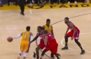 Lakers Highlights: This D'Angelo Russell pass was so incredible it even faked out the cameraman