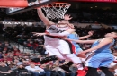 Blazers beat Nuggets to take 1-game lead for 8th seed The Associated Press