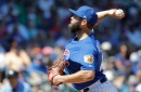 Jake Arrieta tunes up for season debut; Cubs lose 10-7 to Giants