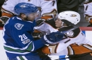 Perry, Eaves score early as Ducks down Canucks 4-1 The Associated Press