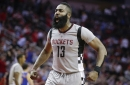 James Harden's wrist is hurting, but he refuses to sit