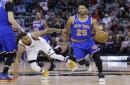 Sore knee keeps Derrick Rose out of Knicks' lineup vs. Heat