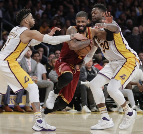 As Cavaliers face 'wake-up call' during adversities of March, Kyrie Irving vows to do more to lead them