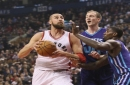 Raptors defence falls apart in 4th quarter in loss to Hornets