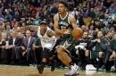 Three late Malcolm Brogden shots lead Bucks by Celtics 103-100