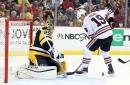 Penguins/Blackhawks Recap: Depleted Pittsburgh boatraced at home