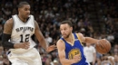 Curry scores 29, leads Warriors' rally over Spurs 110-98