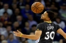 Curry leads Warriors fightback in Spurs defeat