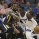 Shelvin Mack provides spark off the bench in Jazz 30-point victory over Kings