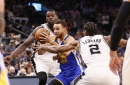 Spurs open up 22-point lead but fall to Warriors, 110-98