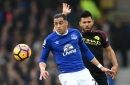 Ramiro Funes Mori could miss the rest of Everton's season with knee injury