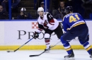 Thursday's Coyotes Tracks - Swept by the Blues