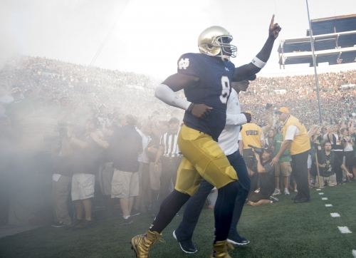 Former Notre Dame QB Malik Zaire weighing 'opportunities,' training for next stop