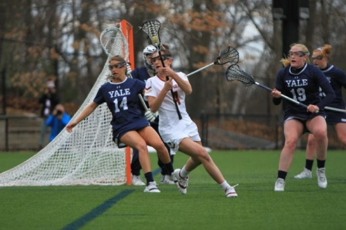 First Half Rally Helps Eagles Down Yale - The Heights