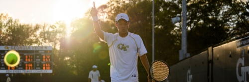 No. 15 Mens Tennis Travels to Boston College, Notre Dame