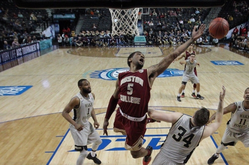Boston College Basketball's Garland Owens Participates in State Farm Slam Dunk Competition
