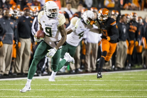 5-round mock draft has Cowboys selecting Baylor WR K.D. Cannon