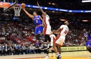 Knicks 98, Heat 94: Scenes from the Knicks finally playing team basketball at the worst time