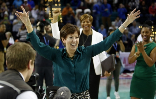 Notre Dame coach Muffet McGraw's road to Basketball's Hall included plenty of twists