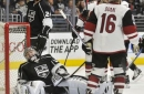 Coyotes end Kings' playoff hopes with 2-1 win (Apr 02, 2017)