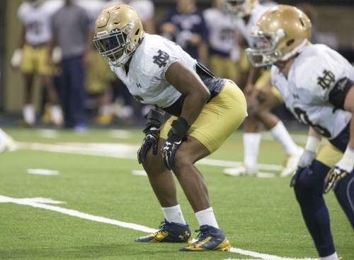 'New' Nyles Morgan hopes to infuse explosiveness, leadership into Notre Dame defense