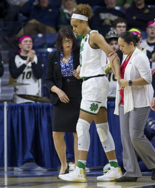 Notebook: Notre Dame's McGraw won't push timetable on Brianna Turner's return