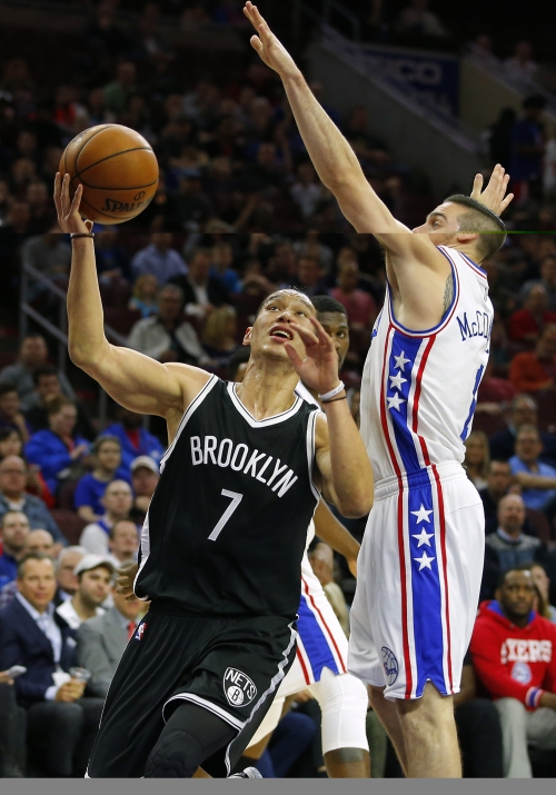 Lopez, Lin lead Brooklyn to rare rout, 141-118 over Sixers The Associated Press