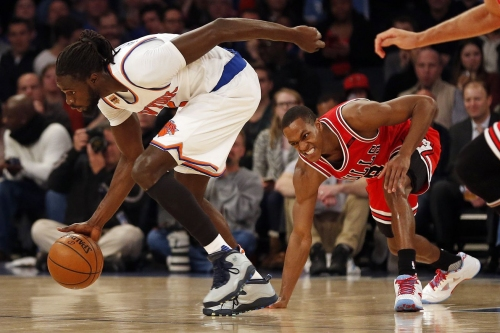 Knicks 100, Bulls 91: So the Maurice Ndour Game just happened...
