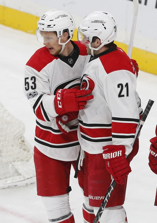 Niederreiter leads Wild to 5-3 victory over Hurricanes The Associated Press