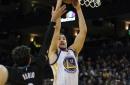 Third quarter explosion puts Warriors over Wolves, 121-107