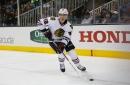Blackhawks recall defenseman Gustav Forsling from AHL