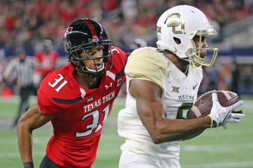 WR K.D. Cannon meets with Cowboys, Miles Austin at Baylor pro day